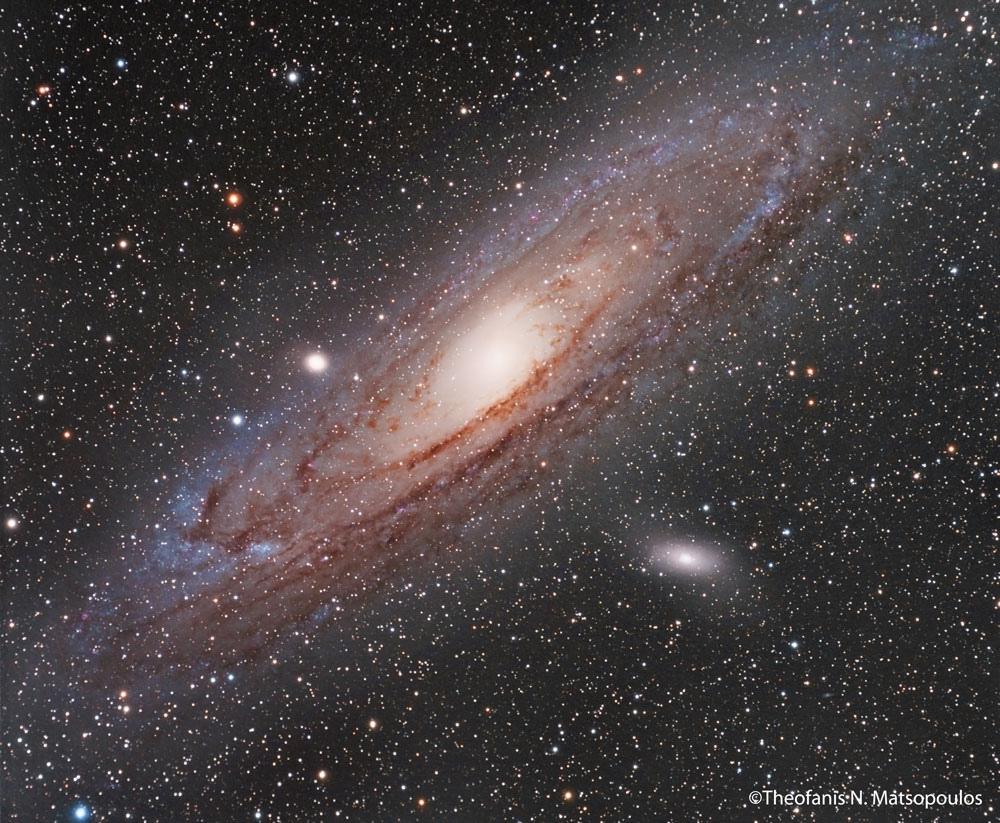 Andromeda Galaxy by Theofanis Matsopoulo