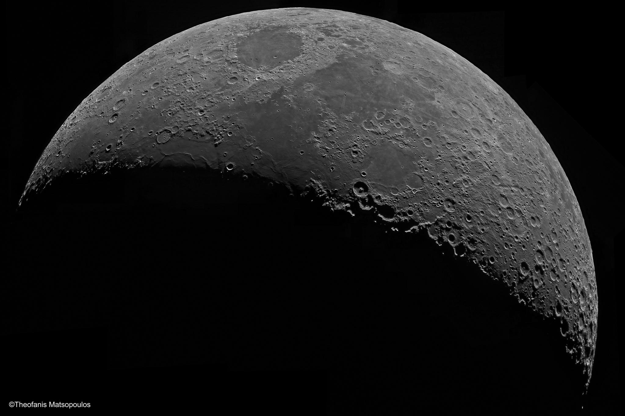 Moon Mosaic (Newall Telescope) by Theofa