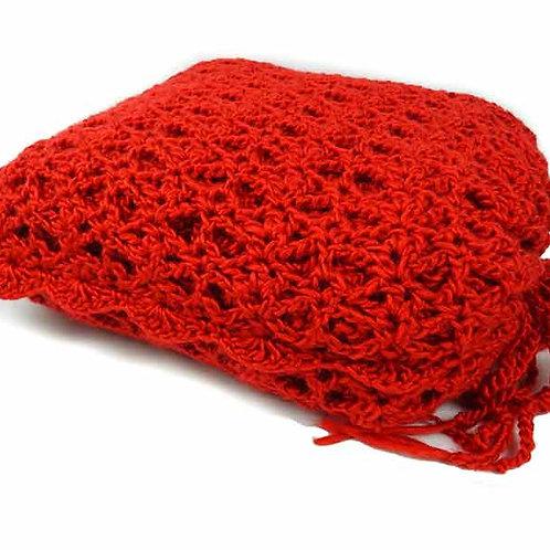 Orange You Bright travel blanket set