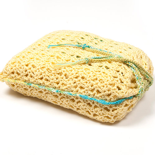 Buttercup traveling blanket with matching bag