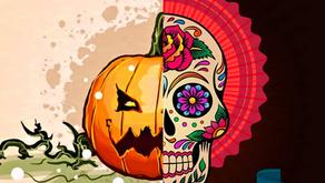 ¿A qué se debe la diferencia entre la decoración de Halloween y el día de muertos?