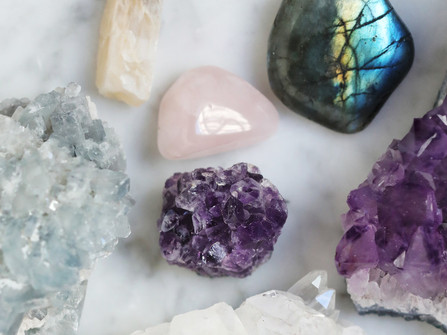 Los cristales y cuarzos