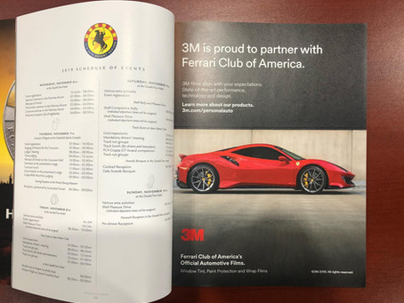 Ferrari Club of America Partners with 3M