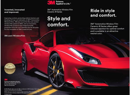 3M Ceramic IR Window Film