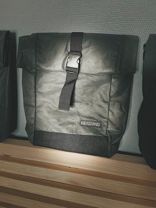 Rolltop Rucksack - reflective black
