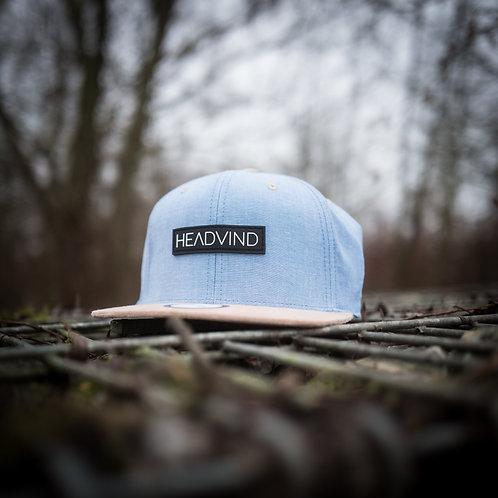 Cap HEADVIND light blue