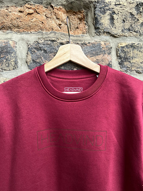 Sweater Headvind Bordeaux