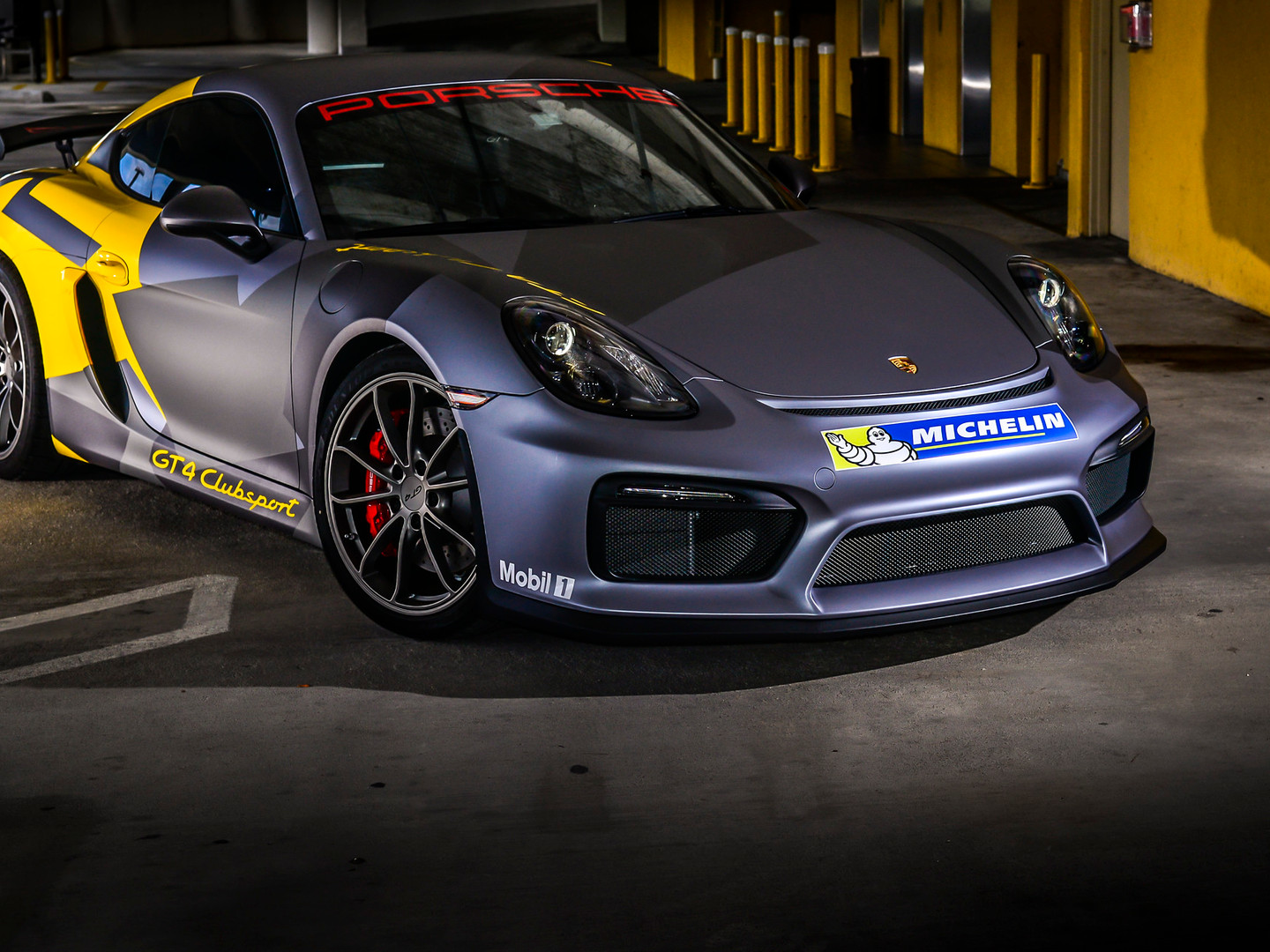 Porsche GT 4 Custom Car Wrap Miami