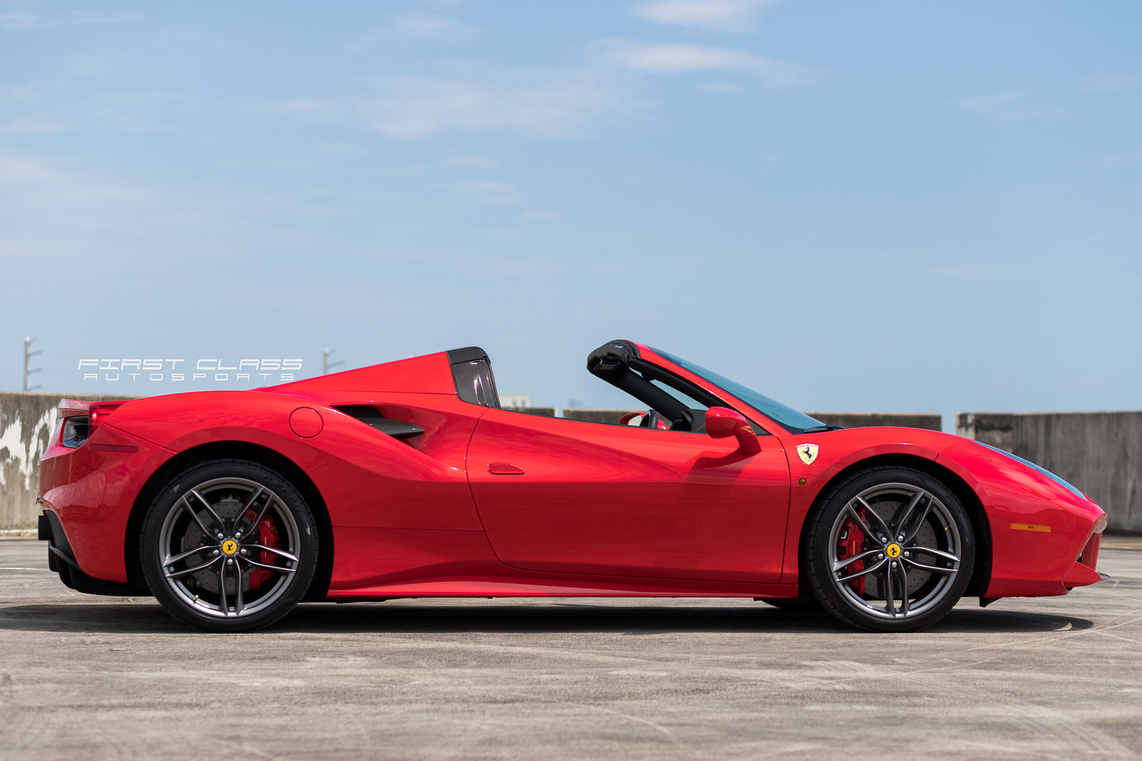 Ferrari Portofino Paint Protection Film Miami