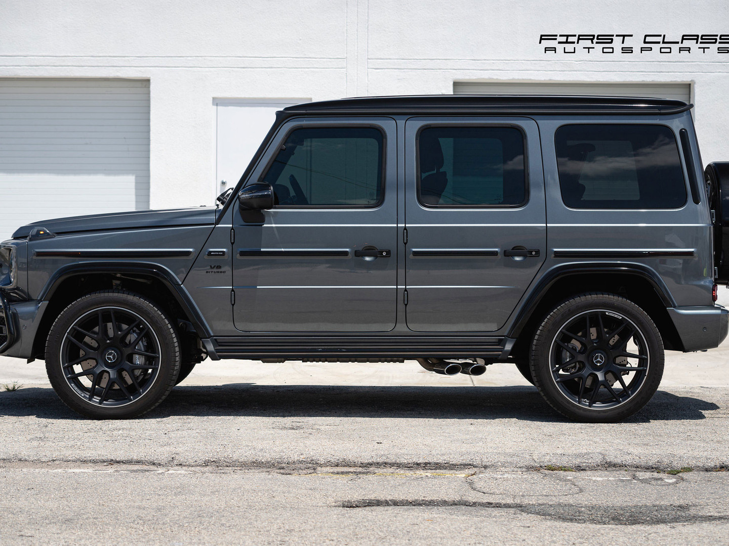 Mercedes Benz G-class Paint Protection Film, Window Tinting and Ceramic Coating Miami