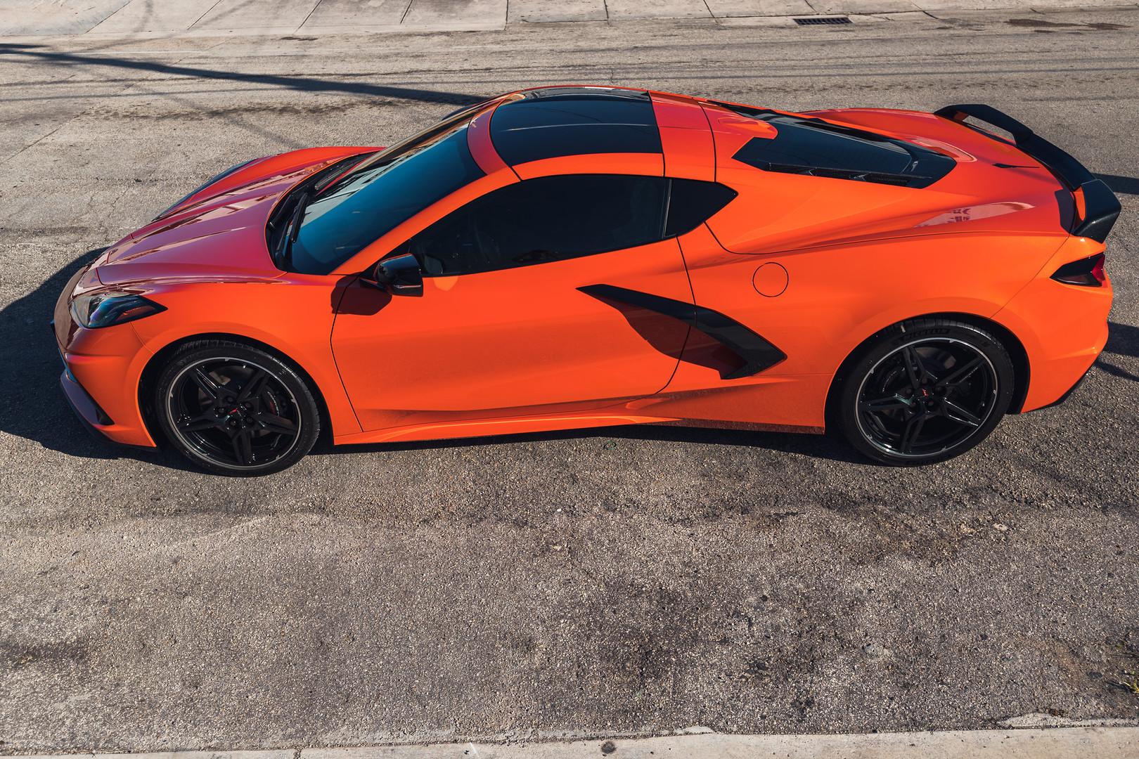Corvette C8 Paint Protection Paint Miami