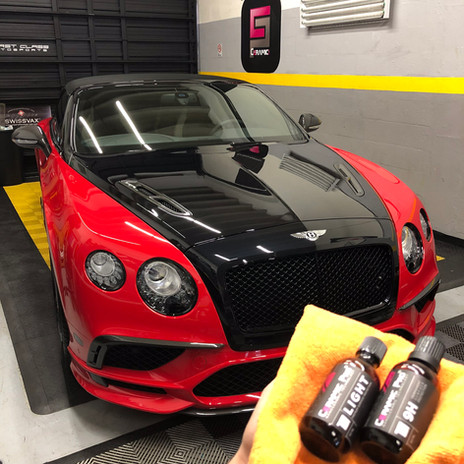 Bentley ceramic pro Miami