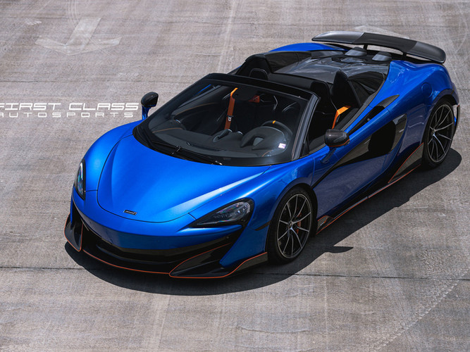 MCLAREN Paint Protection Film Miami