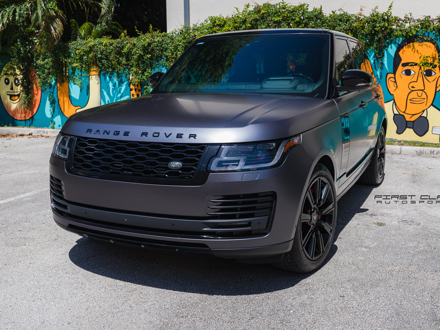 Range Rover Powder Coating Miami
