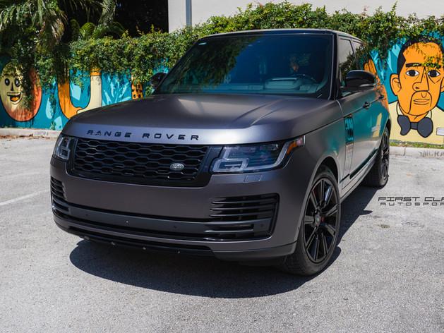 Range Rover Powder Coating Miami