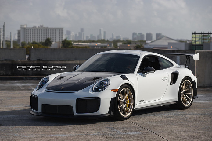 Porsche GT2 RS Xpel paint protection film Miami