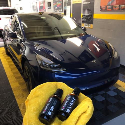Tesla ceramic pro Miami