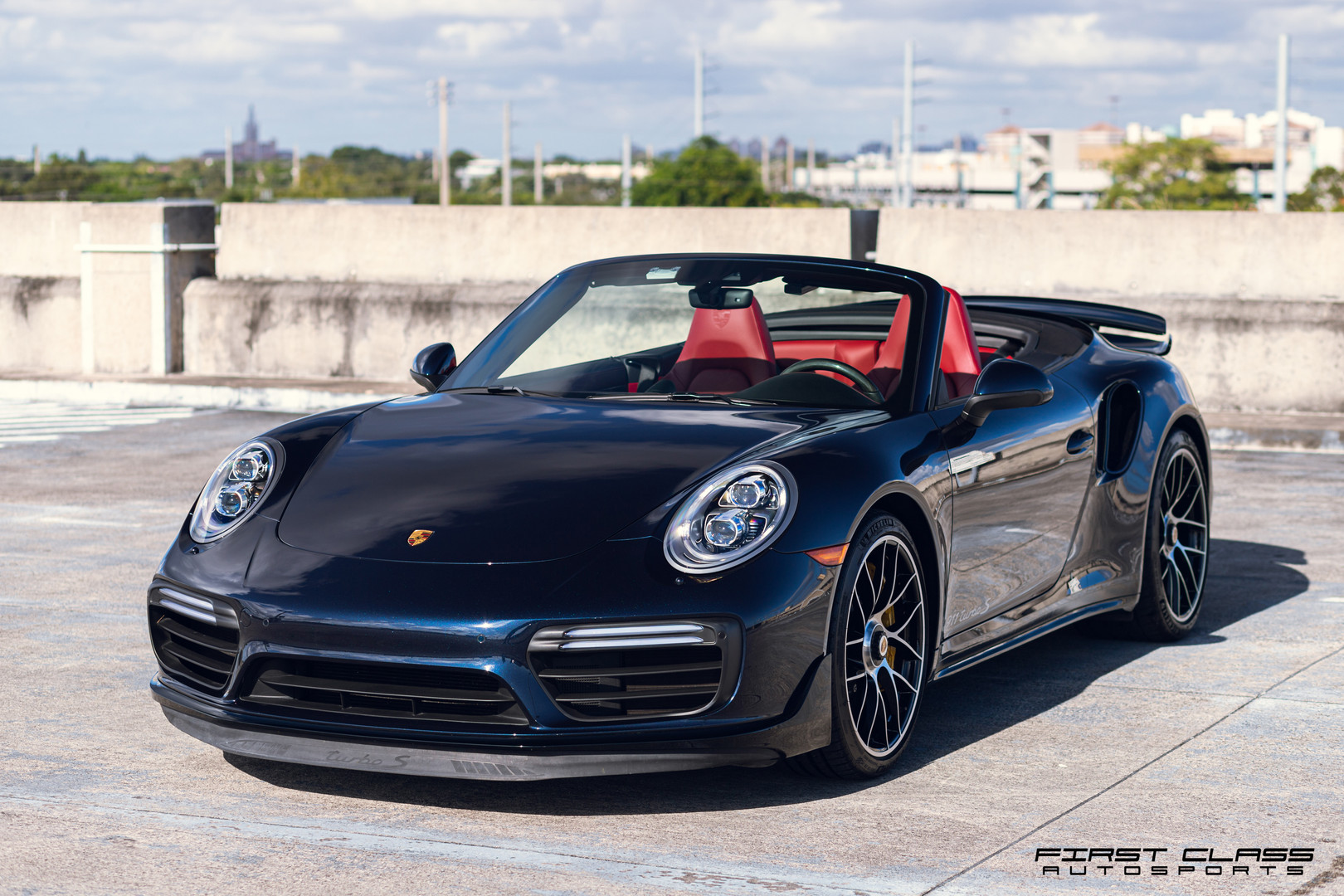 Porsche Turbo S ceramic pro Miami