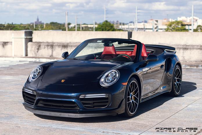 Porsche Turbo S ceramic pro Miami