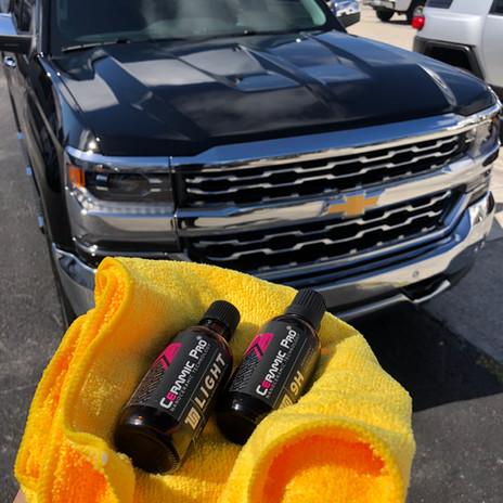 GMC truck ceramic pro Miami