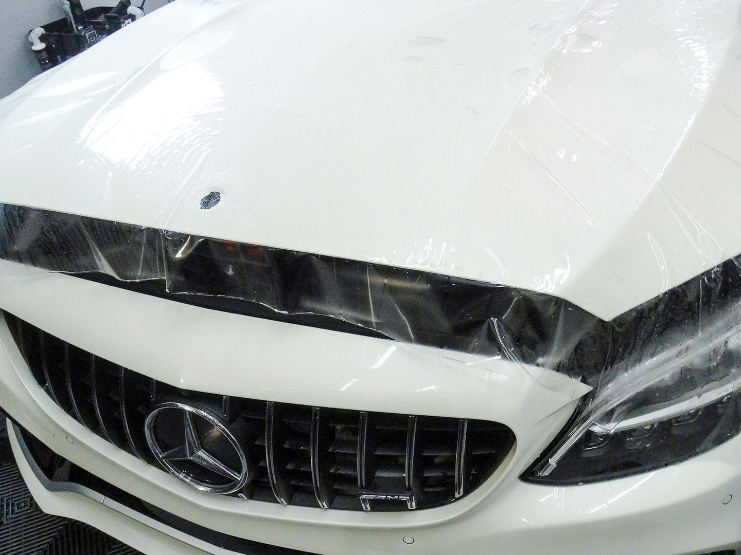 Mercedes Benz - C63 S - Full Front Paint Protection Film