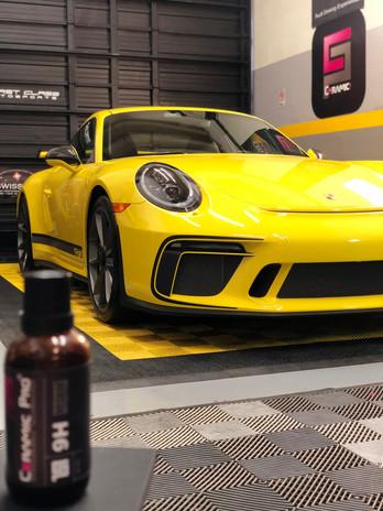 Porsche GT3 Miami ceramic coating