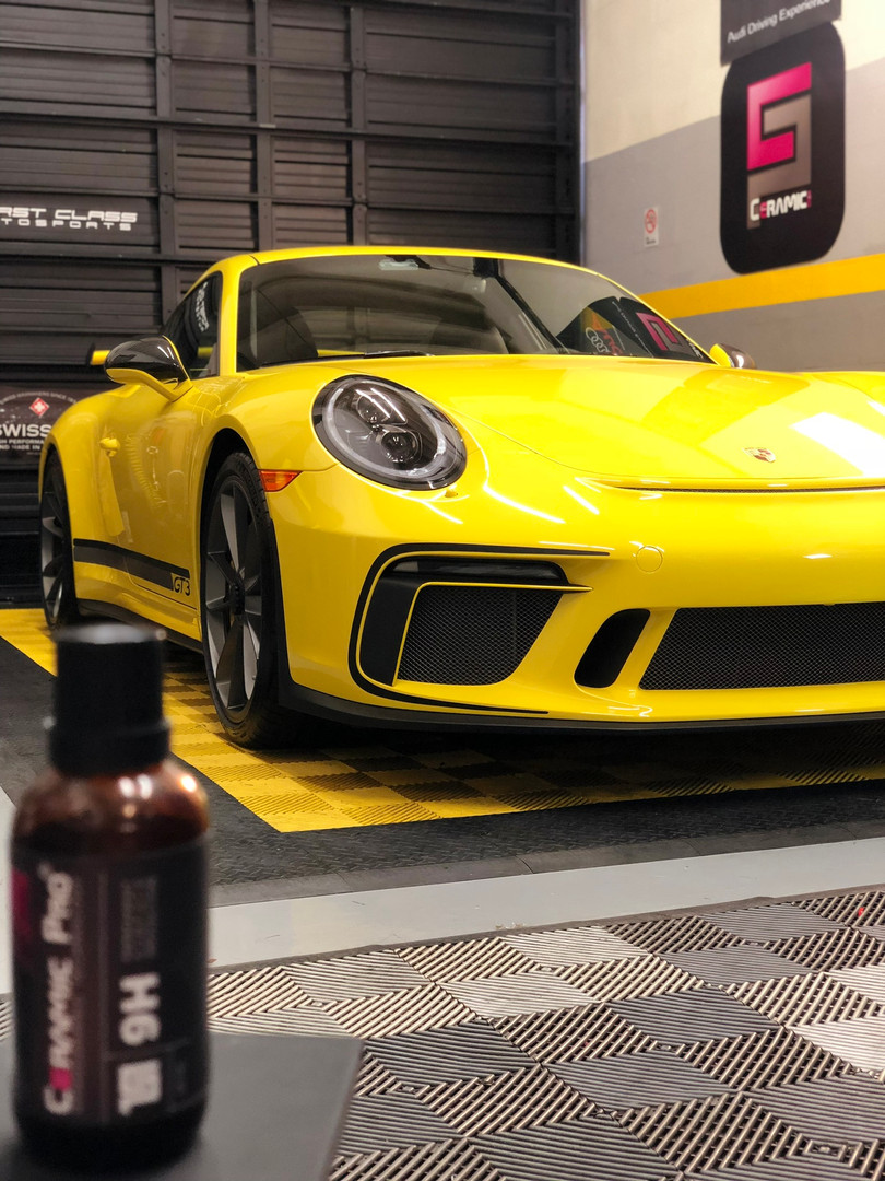 Porsche GT3 Miami ceramic coating