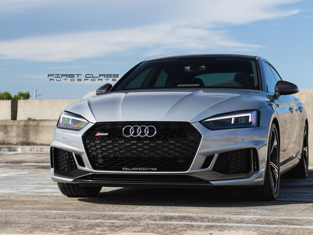 Audi RS7 - Full Paint Protection Film, Window Tint and Ceramic Coating Miami