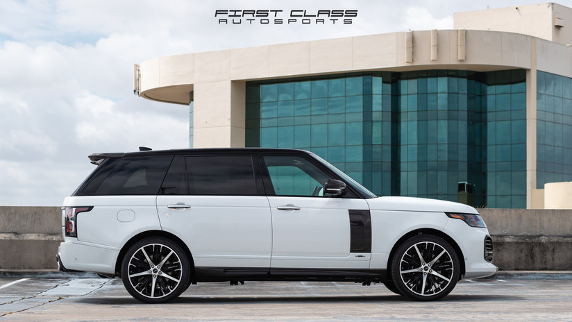 Range Rover ceramic pro Miami