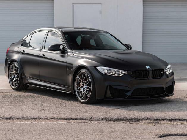 BMW M3 Paint Protection Film Miami
