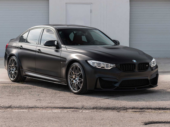 BMW M3 Paint Protection Film Miami