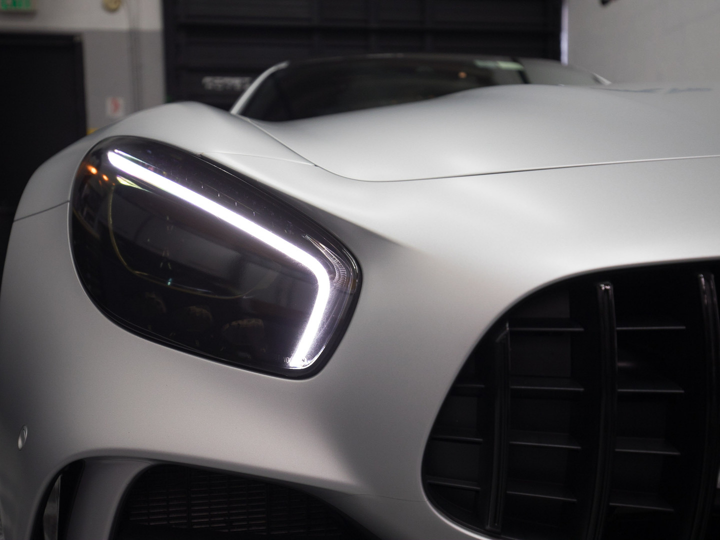 Mercedes Benz - Paint Protection Film Miami
