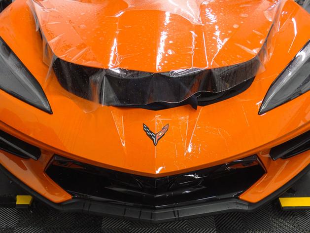 Corvette Paint Protection Film Miami