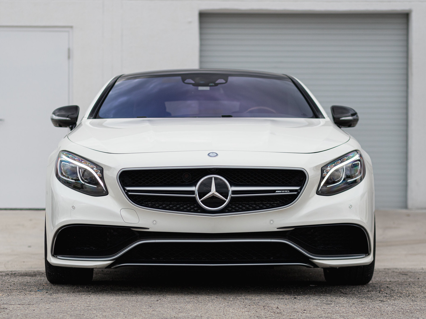 Mercedes Benz S 63 - Full Front Paint Protection Film