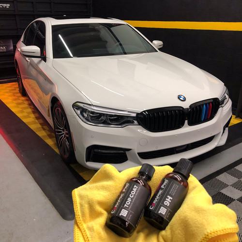 BMW ceramic pro Miami