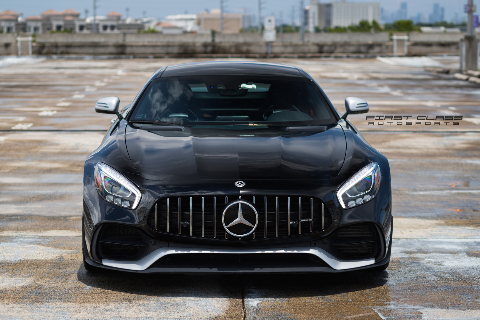 Mercedes AMG GT ceramic pro coating Miami