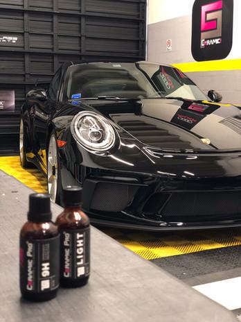 Porsche certified ceramic pro Miami