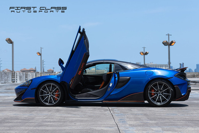 Mclaren 600 LT Ceramic Pro, Paint Protection and Window Tint Miami