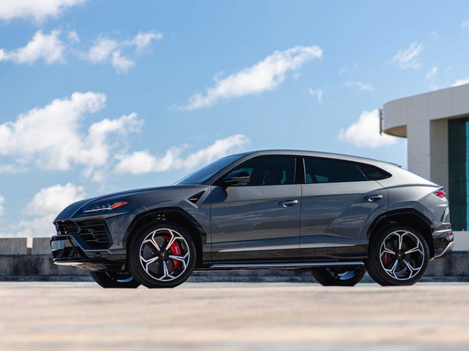 Lamborghini URUS Paint Protection Film and Window Tinting Miami