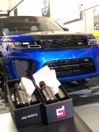 Range Rover ceramic pro coating Miami