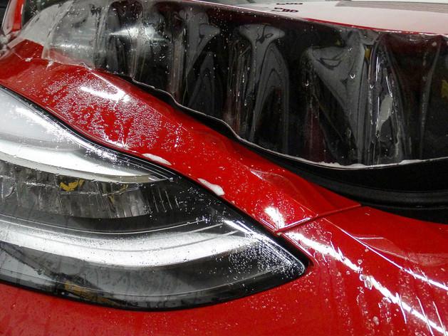 Tesla Model Y Paint Protection Film Miami