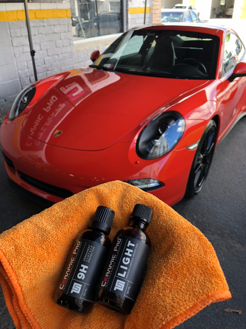 Porsche Miami ceramic pro coating