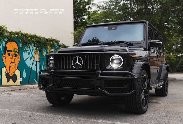 mercedes G63 paint protection film miami