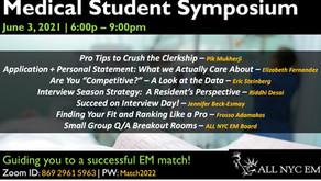Coming in June- AllNYCEM's Medical Student Symposium
