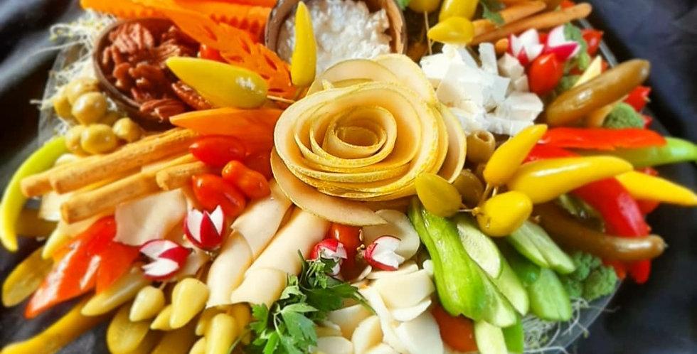 מגש ירקות משפחתי-
