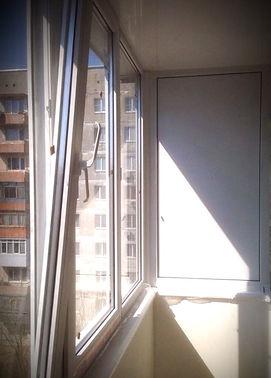 Балкон под ключ за 55000 руб.