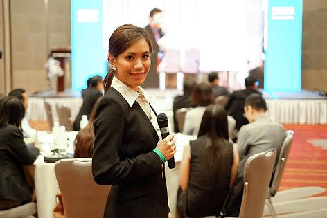 Bangkok based MC EMCEE Event host modera