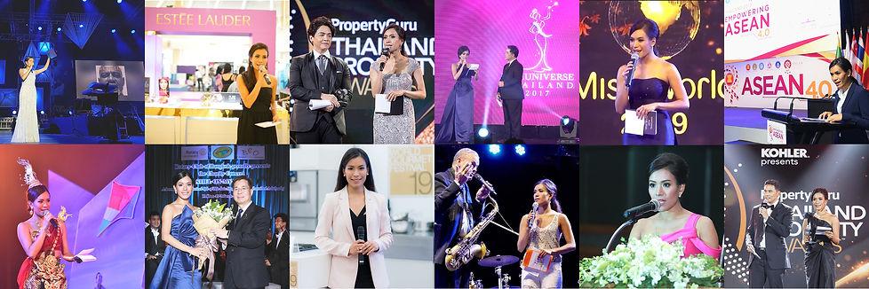 Bangkok MC Event Host พิธีกร สองภาษา ภาษ