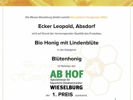 Ergebnisse: Goldene Honigwabe 2021