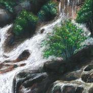 <Landscape#4> 12x16 inches Soft pastel